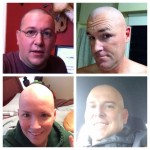 Lookin good bald!