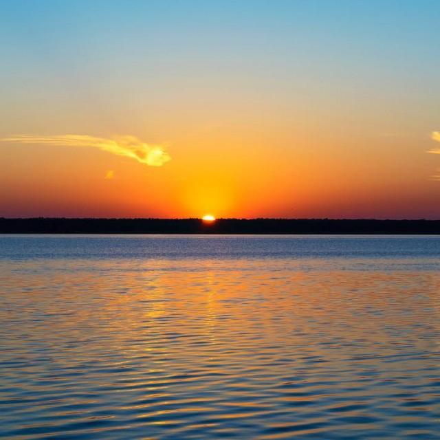 Sunrise over the river    sunrise belhaven northcarolinahellip